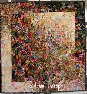 Stitchin' Therapy: Watercolor Quilts Shadows Fall