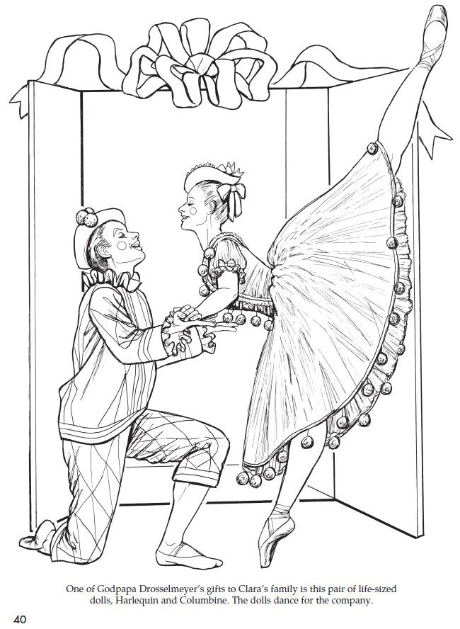 christmas ballerina coloring pages - 434 best seasonal coloring pages images on pinterest