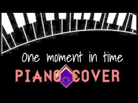 One Moment in time - Whitney Houston- Piano Cover - YouTube