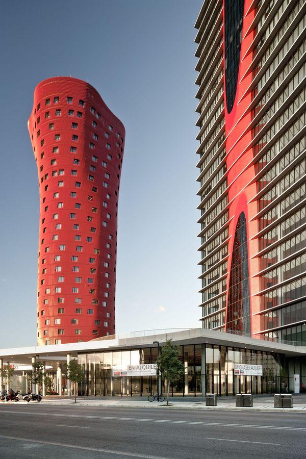 Цветные здания: Музей Nestlé в Толуке, Torres Porta Fira в Барселоне и другие яркие дома   Admagazine   AD Magazine
