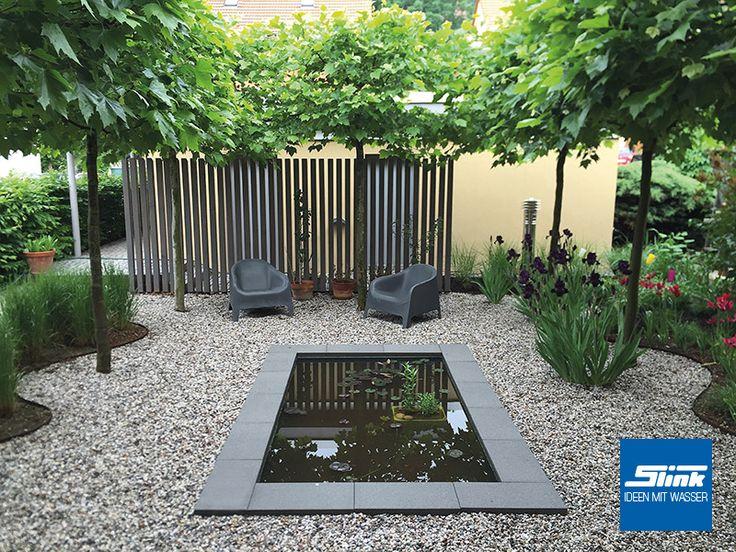 Bildergebnis Für Formale Wasserbecken | Wasser Im Garten   Ideen |  Pinterest | Garten Ideen, Wasser Und Gärten