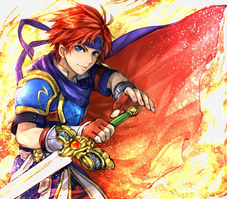 Fire Emblem: Fuin no Tsurugi - Roy by techitoni