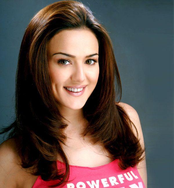Smiling Preity Zinta