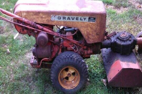 1966 Gravely L8 With Cultivator Gravely Tractor Pinterest