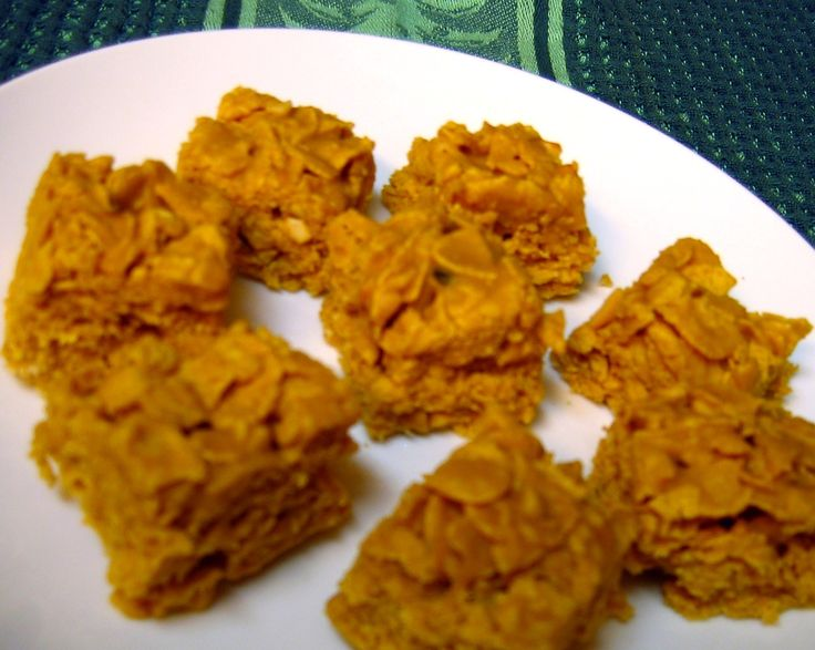 That Good Peanut Butter Cornflake Candy, a.k.a. Aunt Altha's Candy | Tasty Kitchen: A Happy Recipe Community!