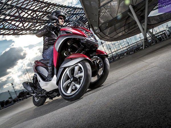 Yamaha Tricity [scooter 125 cm3] Pneus scooter  Disponible au meilleur prix chez Trouve Pneus www.trouve-pneus.com