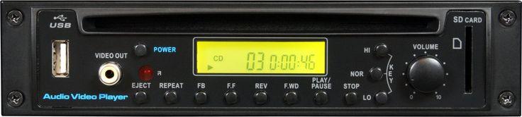 Galaxy Audio RM-CDV Rackmount CD/DVD Player