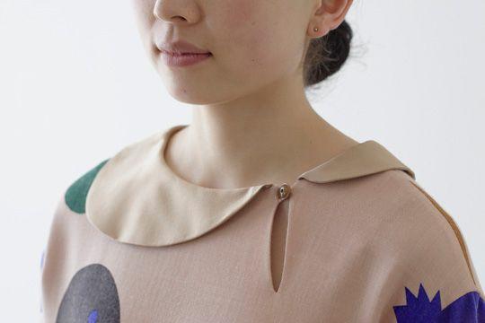 Mina Perhonen. This collar! Oh!