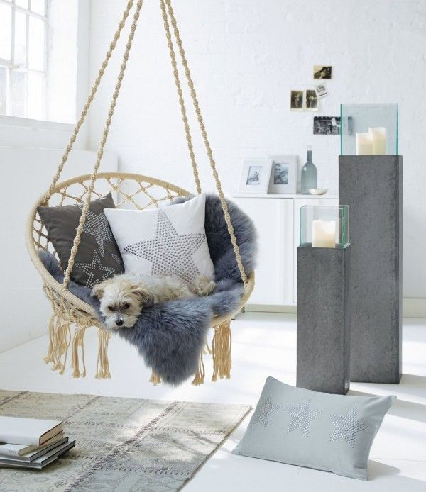 best 25 indoor hanging chairs ideas on pinterest swing. Black Bedroom Furniture Sets. Home Design Ideas