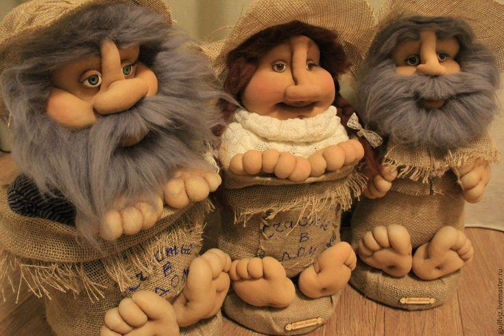 Купить Домовенок Кузя - детская комната, детская, кукла ручной работы, кукла, кукла в подарок