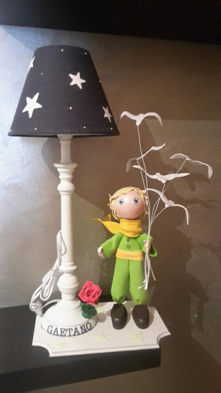 Piccolo principe  le stelle si illuminano al buio!