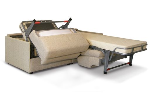 Divano letto che si apre in 2 letti singoli indipendenti - Divano letto gemellare modello RAFFAELLO http://www.colombosalotti.it/divano-letto-che-contiene-2-lettini.html