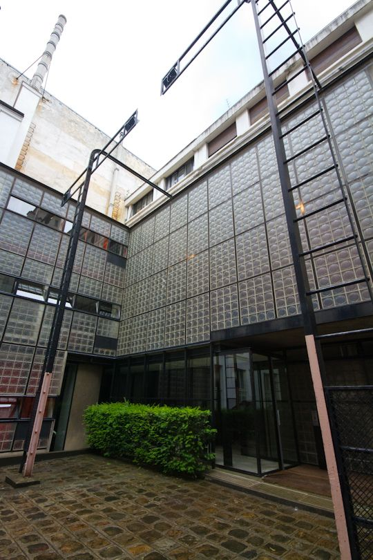 Chapter 25 international style maison de verre exterior Maison de verre paris visite
