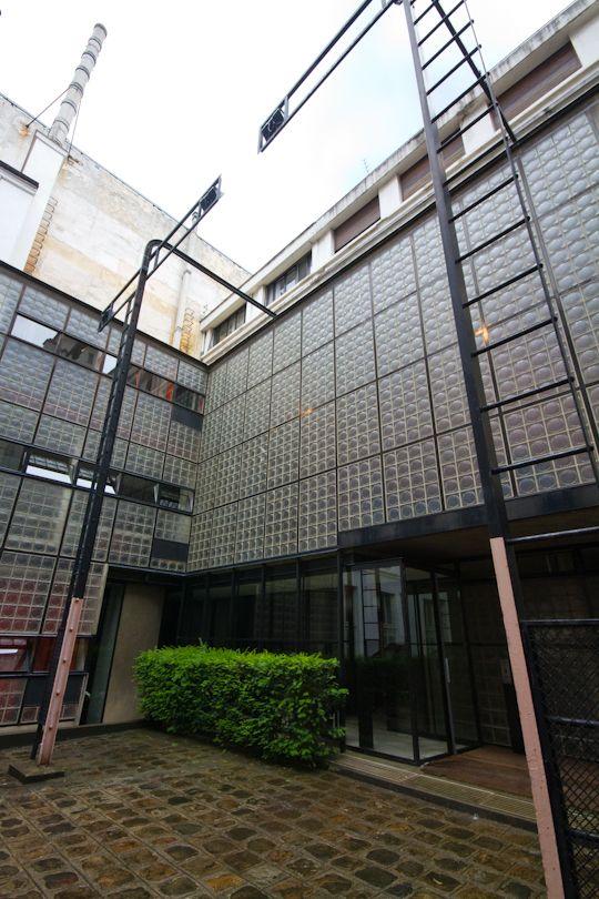 Chapter 25 international style maison de verre exterior - Maison de verre paris visite ...