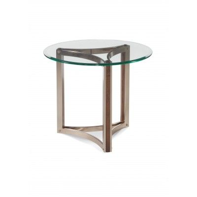 Очаровательный приставной стол Cornell с великолепной стеклянной столешницей. Такой столик будет прекрасно смотреться у любого дивана или любого кресла.             Метки: Стеклянный стол.              Материал: Металл, Стекло.              Бренд: Bassett Mirror.              Стили: Скандинавский и минимализм.              Цвета: Светло-серый, Серый.