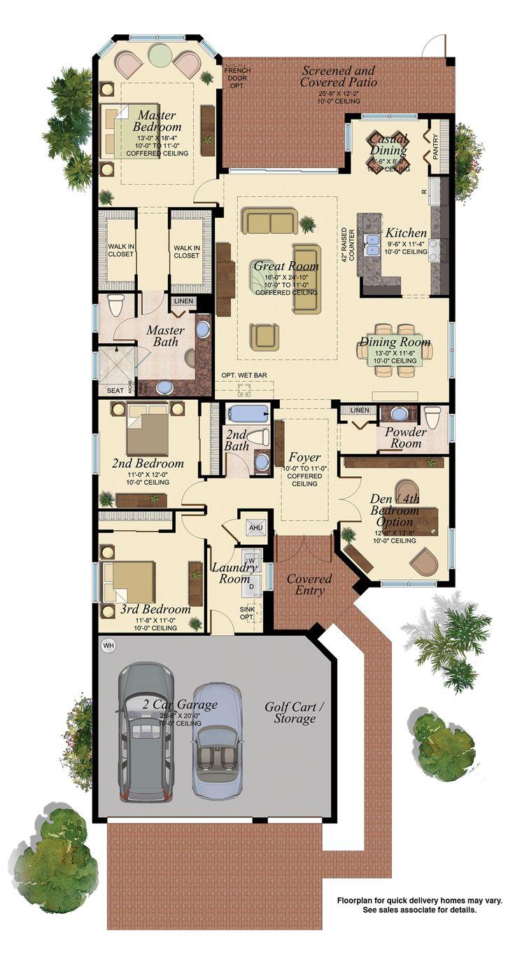 PALAZZO/590 Floor Plan