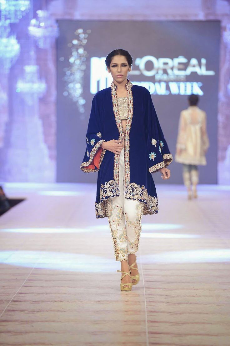 Oriental style jackets with Kimono sleeves and jumpsuits. To keep it Desified watch for prints and beading work