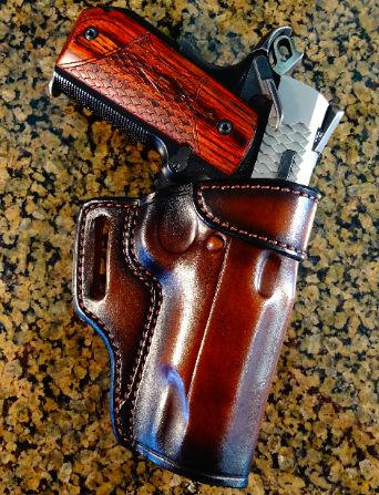 Custom Leather Holster From Jeffrey Custom Leather