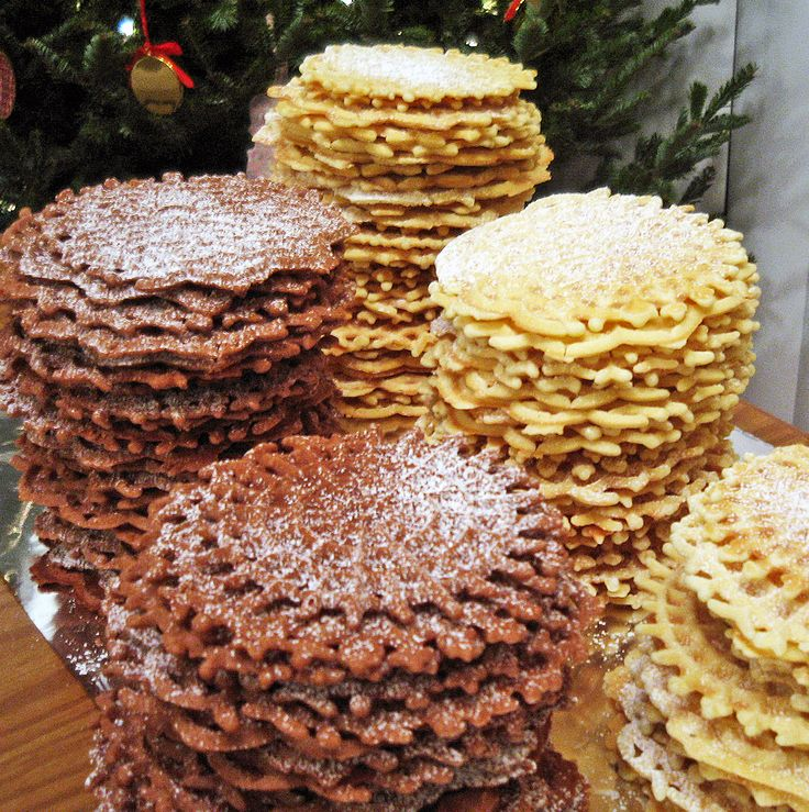 Pizzelle - These would be fun to try to make sometime. I remember a family delivering them to us every Christmas.