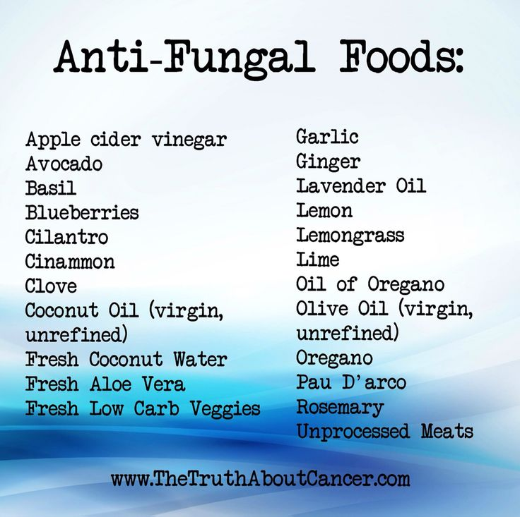 Antifungal Diet