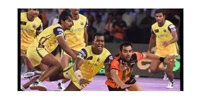 Who do you think will win today in Indian Pro Kabaddi league match in between U Mumba and Telgu titans. Vote Now.. itimes.com