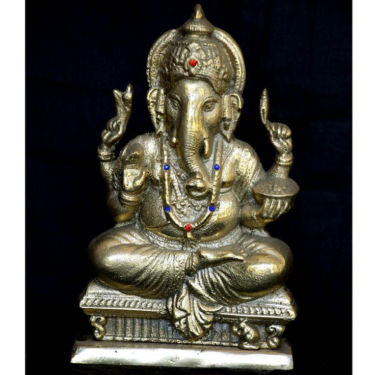 Brass Statue 24-Gana God