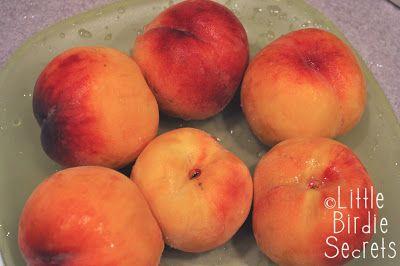how to make peach preserves with fresh peaches