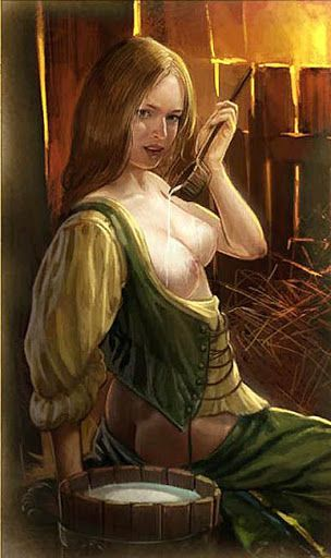 The Witcher - Unlocked Sex Cards (Uncensored Collection). The Peasant Woman.