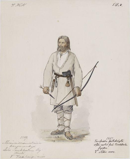 Viking age / Finnish / Miehen muinaispuku Mikkelin Tuukkala