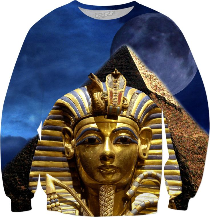 Check out my new product https://www.rageon.com/products/king-tut-and-pyramid-and-pyramid-sweatshirt?aff=BWeX on RageOn! #rageon #erikakaisersot #sweatshirts #KingTut