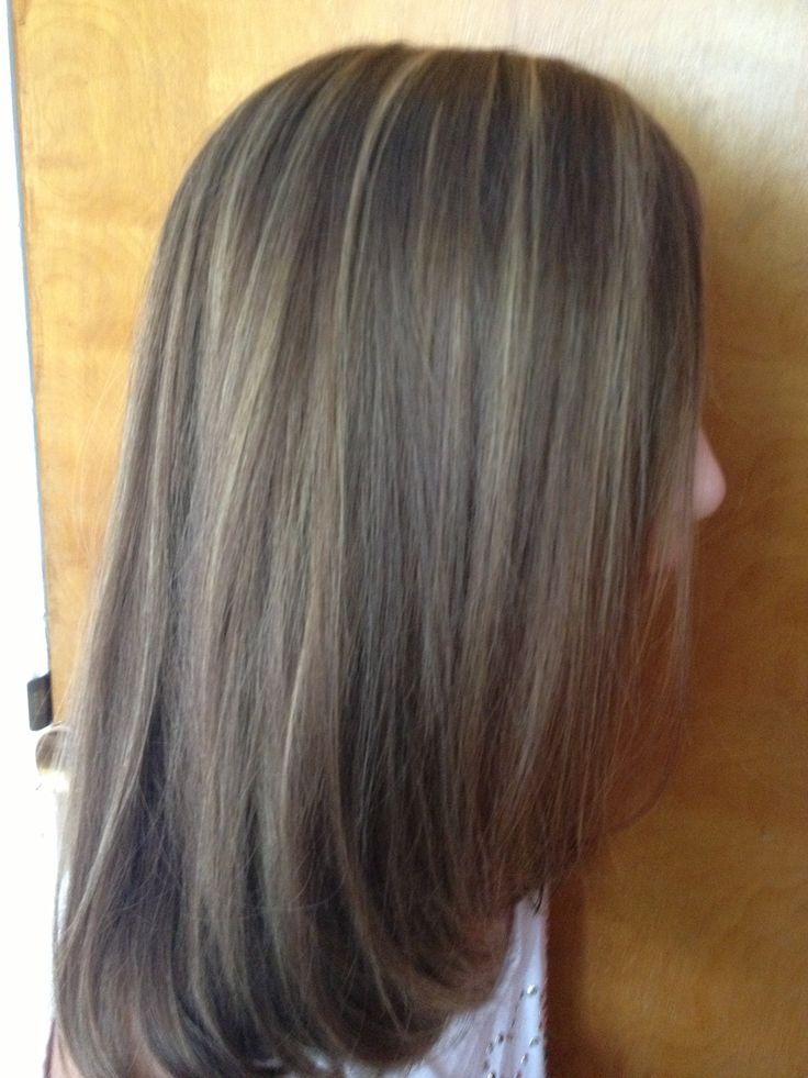Blonde And Brown Foils 35