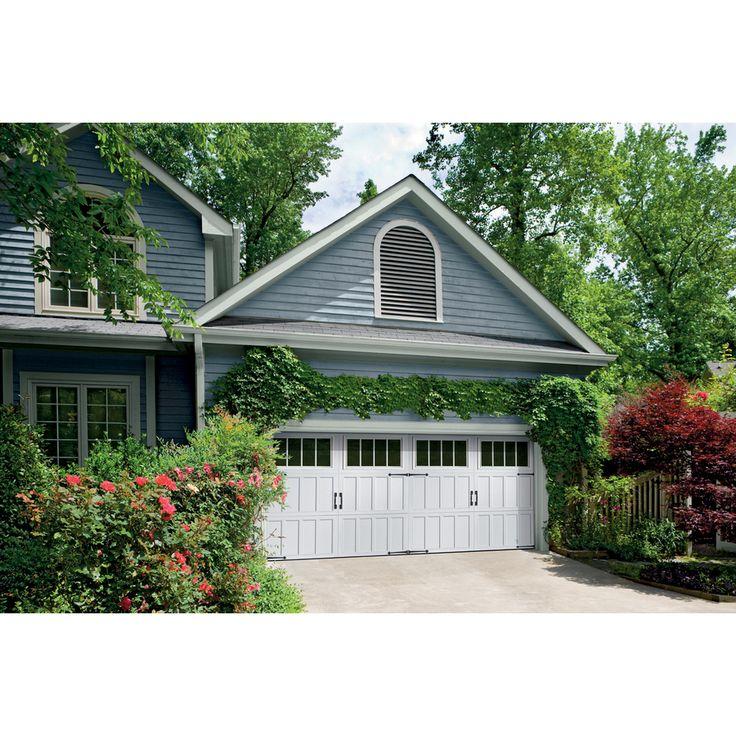 Garage Doors With Windows Styles best 25+ double garage door ideas on pinterest   garage trellis