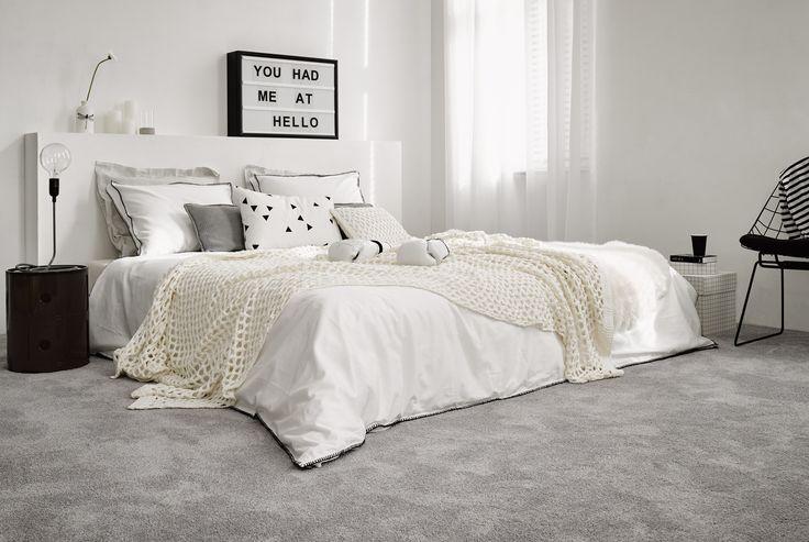 Parade tapijt voor uw slaapkamer. Voor een aangenaam gevoel