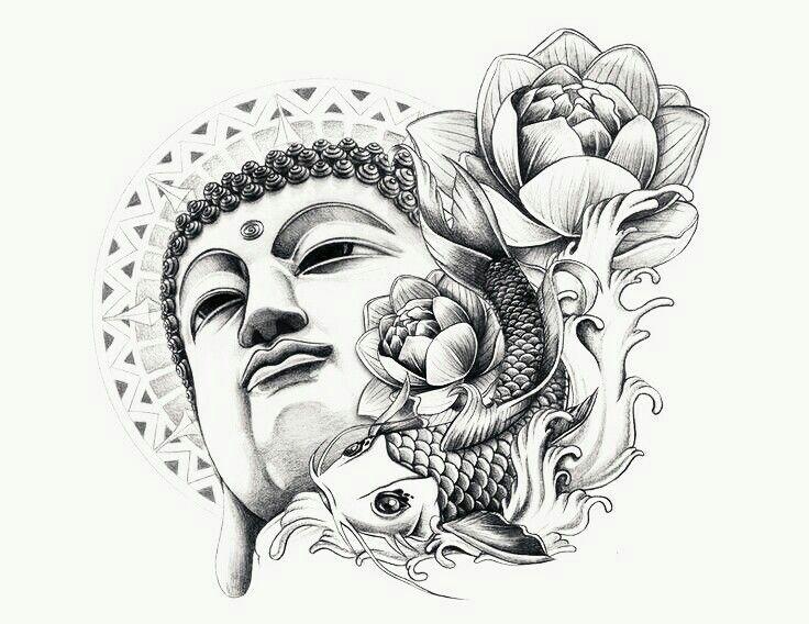 Ms de 25 ideas increbles sobre Tatuajes budistas en Pinterest