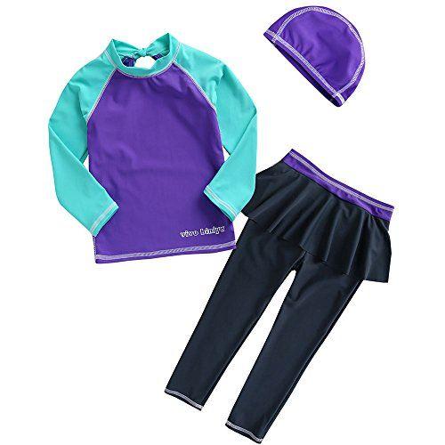 vivobiniya kid Girls Bathing Suit Upf50+ Long sleeve swim... https://www.amazon.com/dp/B01CNYUL18/ref=cm_sw_r_pi_dp_x_4bw4yb0QHQMN9