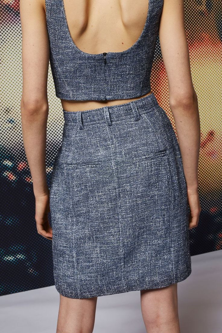 **Boucle Pencil Skirt - Skirts - Clothing - Topshop