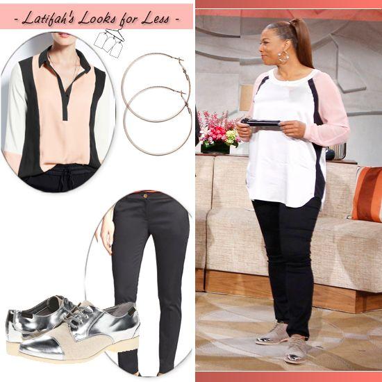 Queen Latifah's Look for Less: April 30