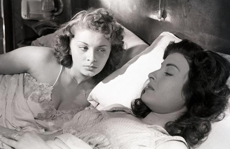 with Sophia Loren in La tratta delle bianche (Luigi Comencini, 1952)