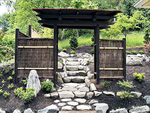 Japanese Garden Gates Ideas gate japanese housejapanese gardensjapanese Find This Pin And More On Japanese Garden Gate Ideas