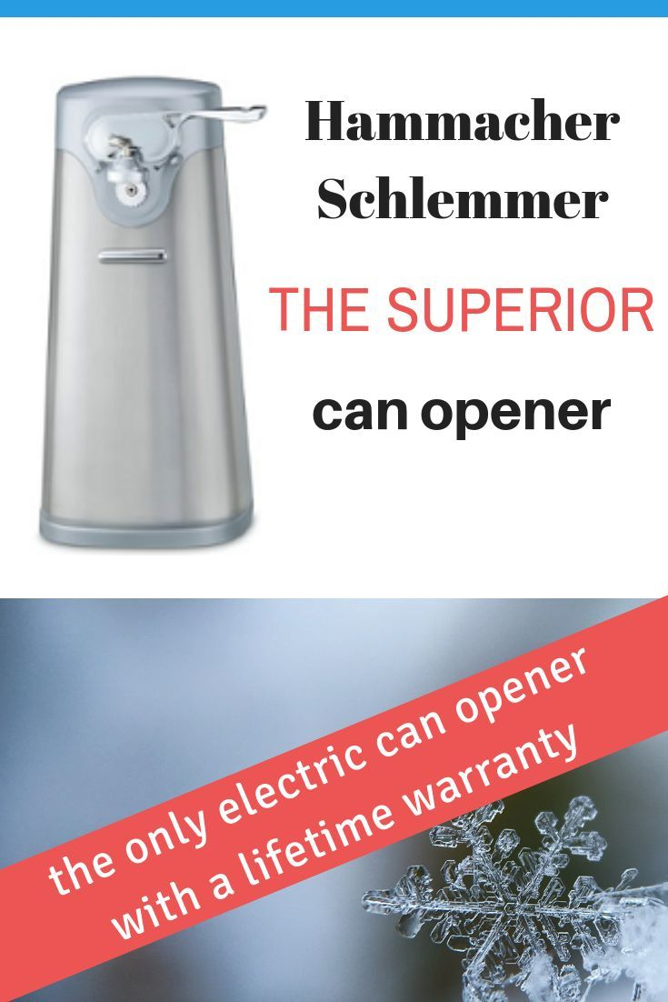 Superior Electric Can Opener Is The Only With A Lifetime Warranty On Market Canopener Kitchentools Kitchengadgets Giftidea