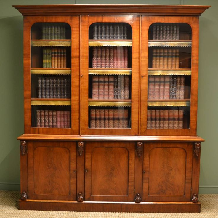 Antique Bookcases for Sale - Cool Rustic Furniture Check more at http://fiveinchfloppy.com/antique-bookcases-for-sale/
