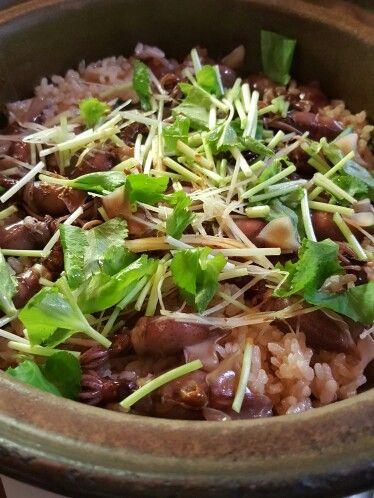 土鍋ホタルイカご飯