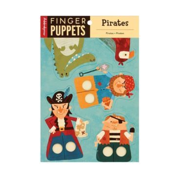 Finger Puppet Pirates - Bobangles #Mudpuppy #pirate #kids #puppets