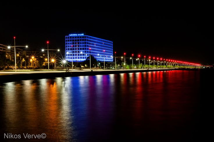 Makedonia Palace and Nea Paralia Thessaloniki, Greece