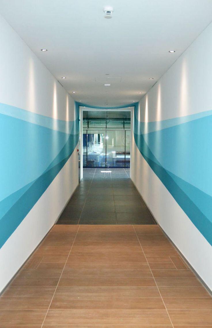 Teal hallway ideas   best architect images on Pinterest  Decks Gardening and Home ideas