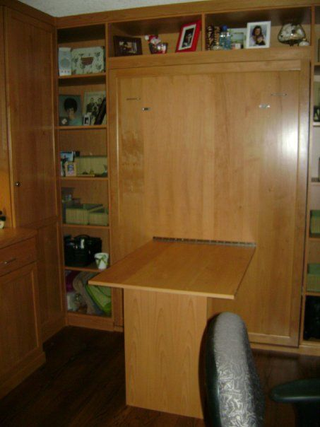 Murphy bed man cave idea for the home pinterest for Murphy beds san francisco