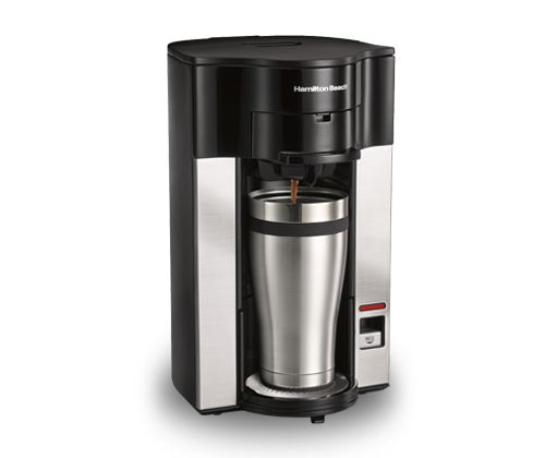Hamilton Beach Stay or Go® Personal Cup™ Pod Coffee Maker (49990Z) The manual provides clear picture s and instructions for this cone filter coffee maker