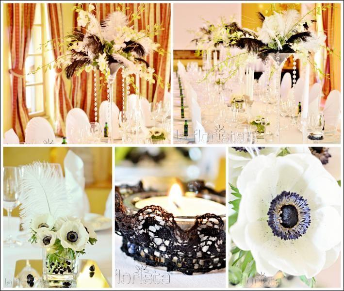 Art Deco Wedding design by La Florista