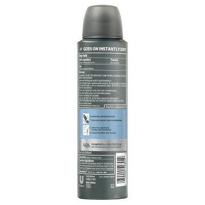 Dove Men+Care Cool Fresh Dry Spray Antiperspirant Deodorant 3.8 oz