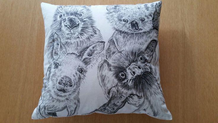 Australiana cushion